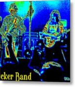 Marshall Tucker Winterland 1975 #18 In Special Cosmicolors With Text Metal Print