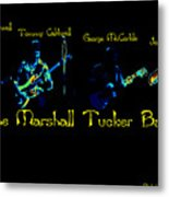 Marshall Tucker Winterland 1975 #19 Enhanced In Cosmicolors With Text Metal Print