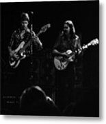 Marshall Tucker Winterland 1975 #36 Enhanced Bw Metal Print