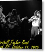 Marshall Tucker Winterland 1975 #37 Crop 2 With Text Metal Print