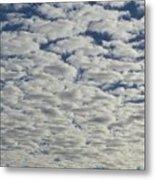 Marshmallow Sky Metal Print