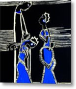Martha And Mary Of Bethany Metal Print