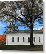 Martha Mary Chapel In Sudbury Ma 2 Metal Print
