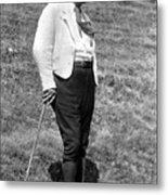 Martin Heidegger (1889-1976) Metal Print