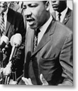 Martin Luther King, Jr. 1929-1968 Metal Print by Everett