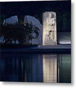 Martin Luther King Jr Memorial Overlooking The Tidal Basin - Washington Dc Metal Print
