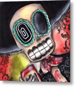 Martin Mariachi Metal Print by  Abril Andrade Griffith