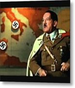 Martin Wuttke As Adolf Hitler Number One Inglourious Basterds 2009 Color Added 2016 Metal Print