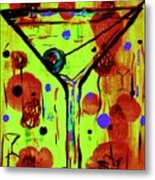 Martini Madness  Metal Print