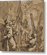 Martyrdom Of Saint Andrew Metal Print