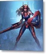 Marvel Future Fight Metal Print