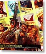 Marvel Zombies Metal Print
