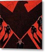 Marvel's Agents Of S.h.i.e.l.d. Metal Print