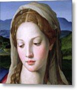 Mary Metal Print by Agnolo Bronzino