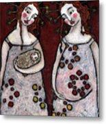 Mary And Elizabeth 2 Metal Print