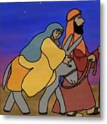 Mary And Joseph  Metal Print