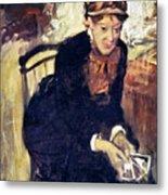 Mary Cassatt (1845-1926) Metal Print by Granger