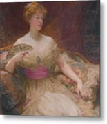 Mary Frances Mackenzie Metal Print