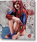 Mary Jane Parker Metal Print