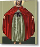Mary Of The Magnificat Mother Of The Poor 091 Metal Print