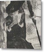 Mary Stevenson Cassatt Metal Print