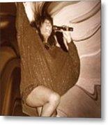 Mary Wilson Of The Supremes... Metal Print