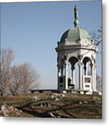 Maryland Monument At Antietam Metal Print
