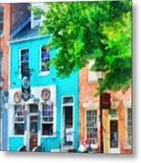 Maryland - Neighborhood Pub Fells Point Md Metal Print