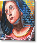 Mary's Message Metal Print