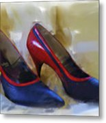 Mary's Mid-century Moderne Collection No. 2 Metal Print