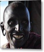 Masai  Metal Print