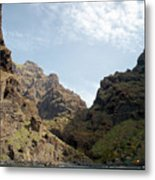 Masca Valley Entrance 2 Metal Print