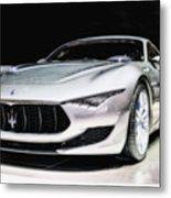 Maserati Alfieri Concept 2014 Metal Print