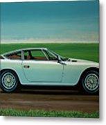 Maserati Khamsin 1974 Painting Metal Print