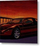Maserati Merak 1972 Painting Metal Print