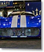 Maserati Racer Metal Print