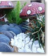 Mashrooms Metal Print