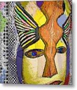 Mask 13 Metal Print