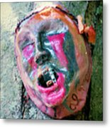 Mask Attached To Trunk 1 Metal Print