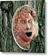 Mask Attached To Trunk 2 Metal Print