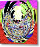 Mask Of The Creator Metal Print