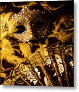 Mask Of Theatre Metal Print