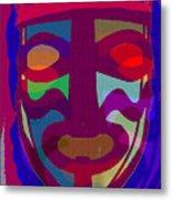 Mask8 Metal Print