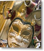 Masks For Sale - Venice, Italy Metal Print