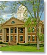 Mason County Courthouse Metal Print