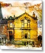 Masonic Lodge 2 Metal Print