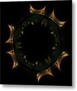 Masque Du Temps Metal Print