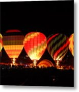 Mass Balloon Glow Metal Print