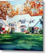 Massachusetts Home Metal Print