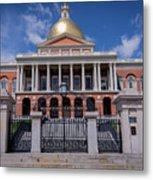 5- Massachusetts State House Eckfoto Boston Freedom Trail Metal Print
